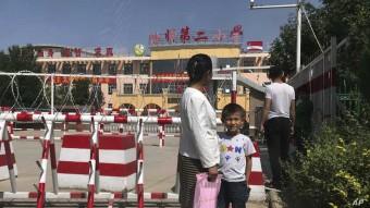 لمنع الإنجاب في شينجيانغ.....